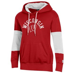 Wisconsin Badgers Under Armour Women's All Day Ridge Hooded Sweatshirt