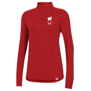 Wisconsin Badgers Under Armour Women's 2020 Sideline Half Zip