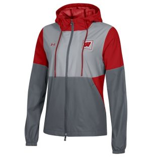 Wisconsin Badgers Under Armour Women's Sideline Fieldhouse Jacket