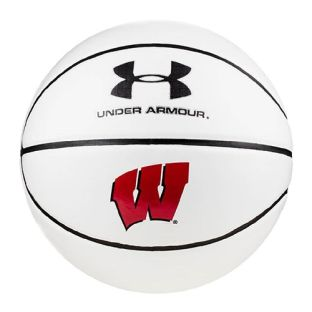 Wisconsin Badgers Under Armour Autograph Basketball