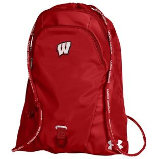 Wisconsin Badgers Under Armour Red Undeniable 2 Sack Pack