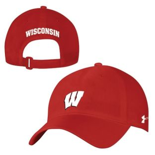 Wisconsin Badgers Under Armour 17 Sideline Airvent Adjustable Hat