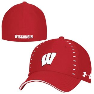 Wisconsin Badgers Under Armour 2018 Sideline Blitz Flex Hat