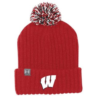 Wisconsin Badgers Under Armour 2018 Sideline Pom Knit