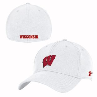 Wisconsin Badgers Under Armour 2019 Sideline Switch Flex Cap