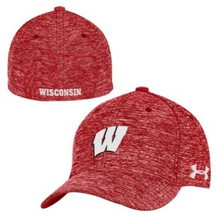 Wisconsin Badgers Under Armour W Twist Tech Flex Hat