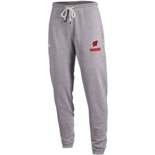 Wisconsin Badgers Under Armour Triblend Jogger Pant