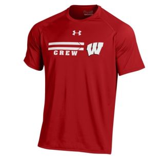 Wisconsin Badgers Under Armour Sport Tech T-Shirt