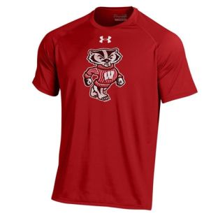 Wisconsin Badgers Under Armour Full Bucky Tech T-Shirt