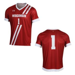 Wisconsin Badgers Under Armour Soccer Jersey