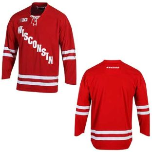 Wisconsin Badgers Under Armour Hockey Jersey