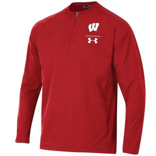 Wisconsin Badgers Under Armour 2018 Sideline Cage Jacket