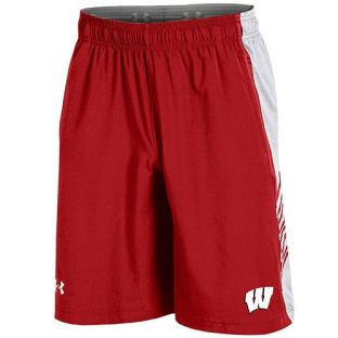 Wisconsin Badgers Under Armour 2017 Sideline Training Shorts