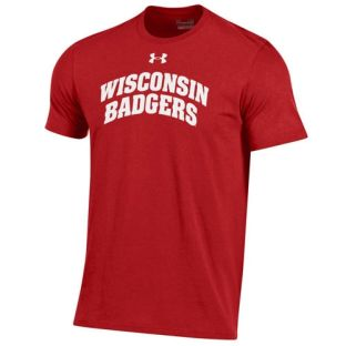 Wisconsin Badgers Under Armour 2 Line Arch Charged T-Shirt