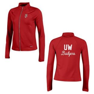 Wisconsin Badgers Under Armour Women's UW Full Zip Fleece Jacket