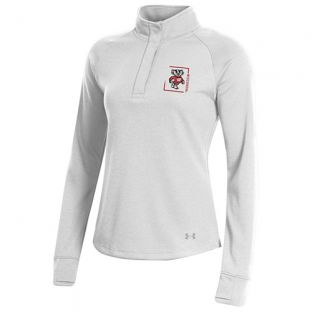 Wisconsin Badgers Under Armour Women's Bucky Box 1/4 Snap Pullover