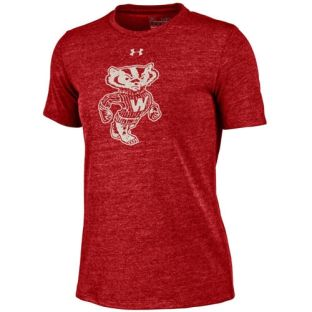 Wisconsin Badgers Under Armour Women's Retro Bucky Triblend T-Shirt