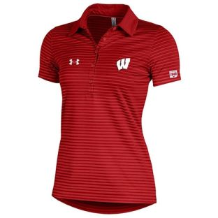Wisconsin Badgers Under Armour 2017 Women's Trajectory Polo
