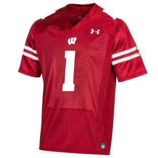 Wisconsin Badgers Under Armour Red Youth 2019 Replica Football Jersey
