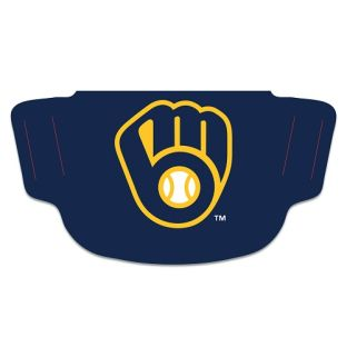 Milwaukee Brewers Wincraft Navy Face Covering
