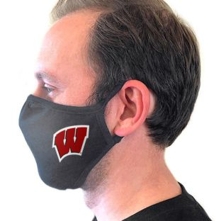 Wisconsin Badgers 3 Pack Motion W Face Coverings