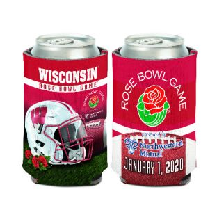 Wisconsin Badgers 2020 Rose Bowl Can Coozie