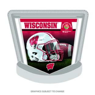 Wisconsin Badgers 2020 Rose Bowl Lapel Pin