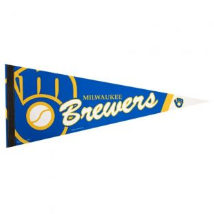 Milwaukee Brewers Retro Premium 12x30 Felt Pennant