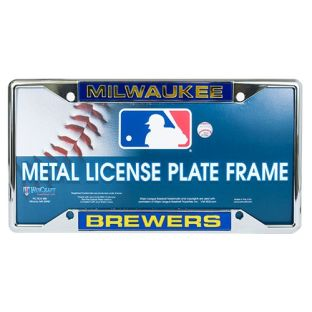Milwaukee Brewers WinCraft Inlaid Metal License Frame