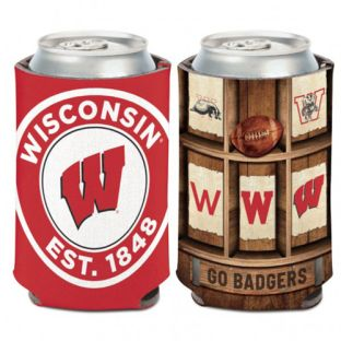 Wisconsin Badgers Wincraft Evolution Can Cooler