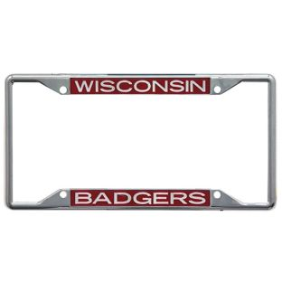 Wisconsin Badgers WinCraft Metal License Plate Frame