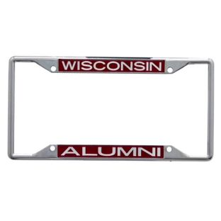 Wisconsin Badgers WinCraft Alumni Metal License Plate Frame