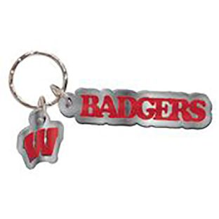 Wisconsin Badgers Wincraft Key Tag With Charm