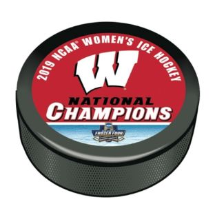 Wisconsin Badgers Women's Hockey 2019 NCAA National Championship Puck