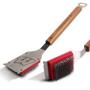 Wisconsin Badgers You The Fan Grill Brush