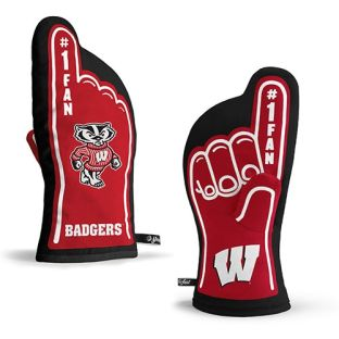 Wisconsin Badgers You The Fan #1 Oven Mitt