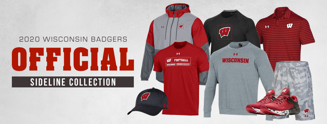 2020 Wisconsin Badgers Official Sideline Collection
