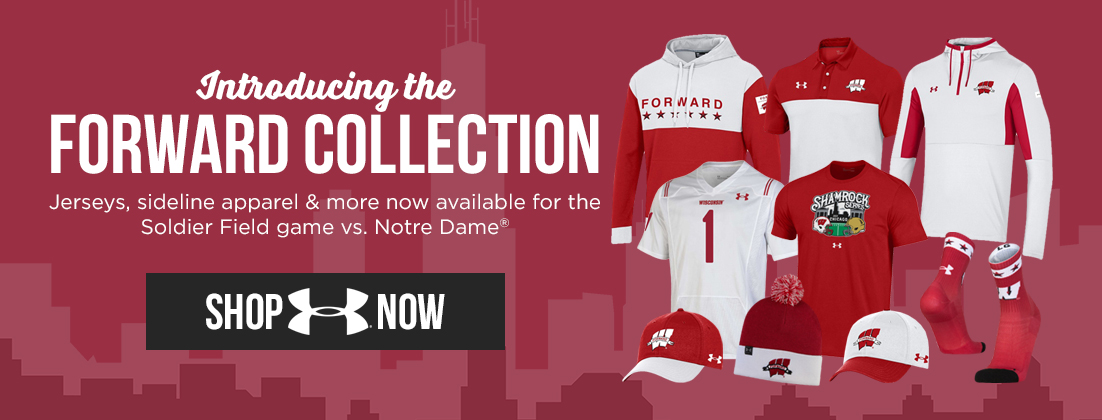 Wisconsin Badgers Forward Collection Shamrock Series
