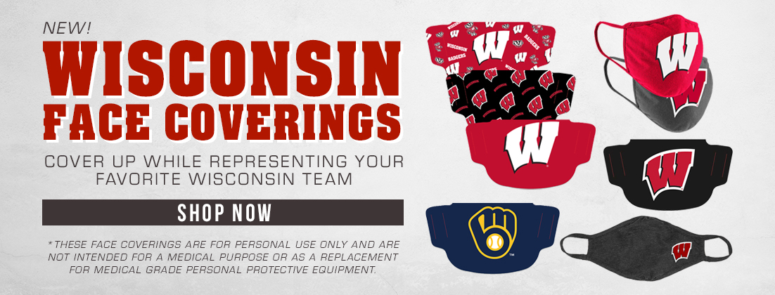 University of Wisconsin Branded Face Coverings