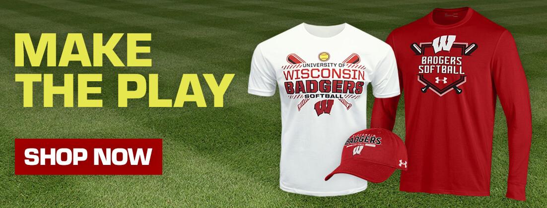 Wisconsin Badgers Softball Fan Gear